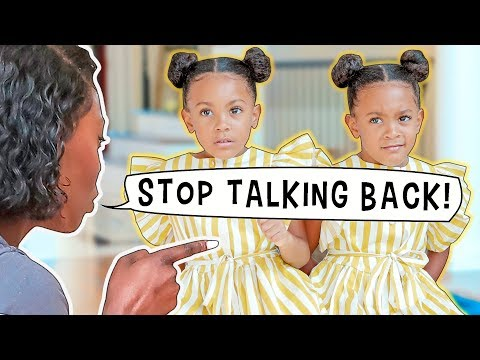 STOP TALKING BACK TO YOUR PARENTS!