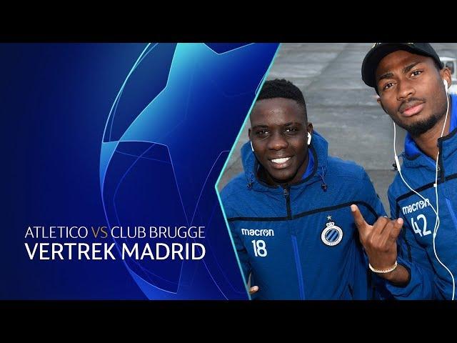 VERTREK NAAR MADRID   UCL   2018-2019