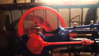 machine polisot vapeur moteur fixe