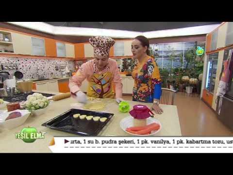 Oktay Usta-Yeşil Elma Kalp Pare Tarifi