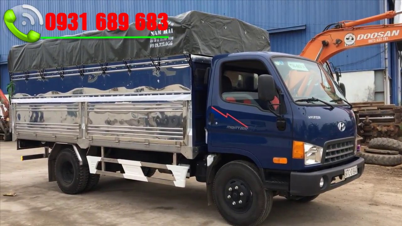 Hyundai 8 tấn máy cơ 2019 | hyundai mighty 2017  8 tấn