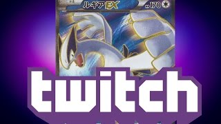 Pulling Lugia EX Full Art from Pokemon Bandit Ring - Twitch Livestream Highlight!