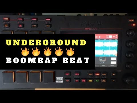 Making Underground Boom Bap Using MPC LIve x Halftime | Chopping Block