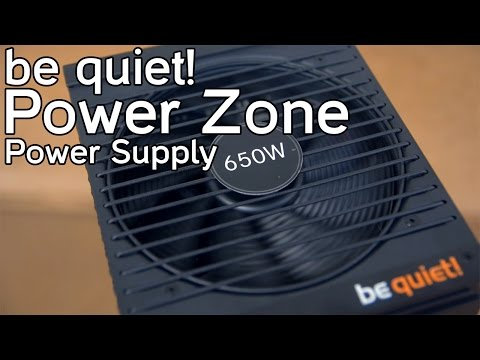 be quiet! Power Zone 650W Power Supply Overview | Best Gaming Power Supply 2015?
