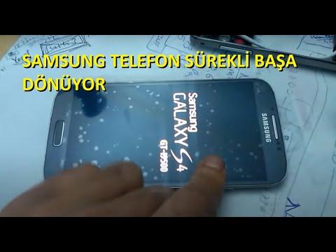 Samsung S4 Resetleme Acilip Kapanma Sorunu Cozumu
