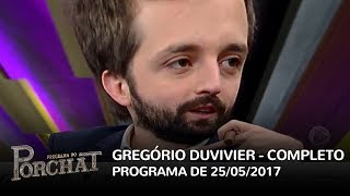 Video Programa do Porchat (completo) | Gregorio Duvivier (25/05/2017) download MP3, 3GP, MP4, WEBM, AVI, FLV November 2017