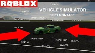 Vehicle Simulator (ROBLOX) Drifting Montage!
