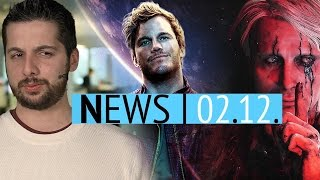 Guardians of the Galaxy-Spiel - Neue Szenen aus Death Stranding, Prey & Mass Effect - News