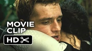 The Hunger Games: Catching Fire Movie CLIP #8 - Peeta Hits the Forcefield (2013) Movie HD