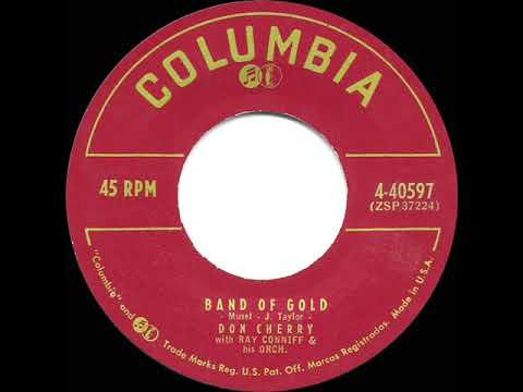 1956 HITS ARCHIVE: Band Of Gold - Don Cherry