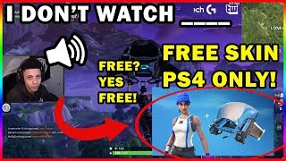 MYTH HAS SOMETHING TO TELL US!!! FREE SKIN PS4+ ONLY!!! Fortnite highlights #132