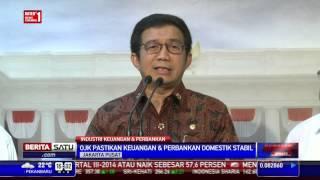 OJK Laporkan Kondisi Perekonomian Ke Presiden Jokowi