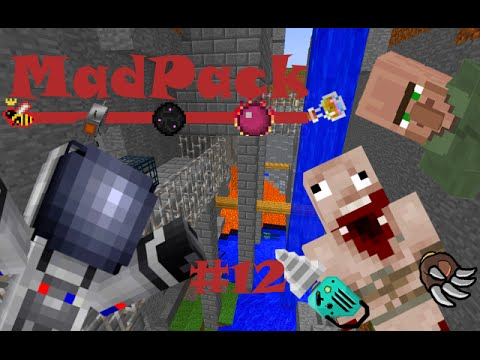 Minecraft MadPack: Redstone Arsenal & Essence! (Part 12) (Dutch Commentary)