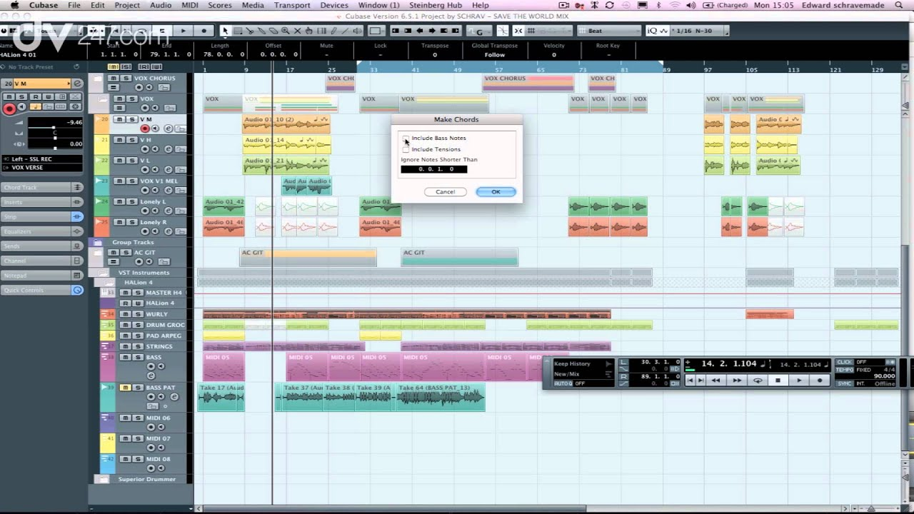 Steinberg Cubase 7 New Features Youtube