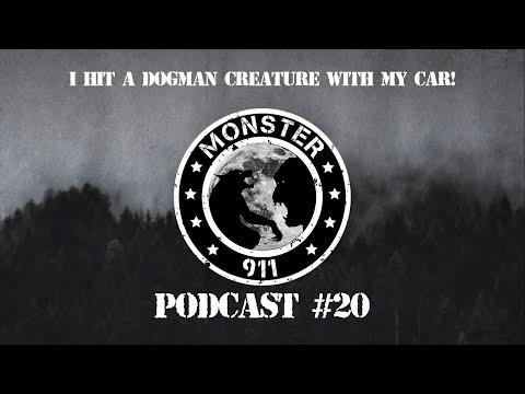 """I Hit A Dogman Creature With My Car!"", Episode #20--Dogman Sasquatch Oklahoma Encounters"