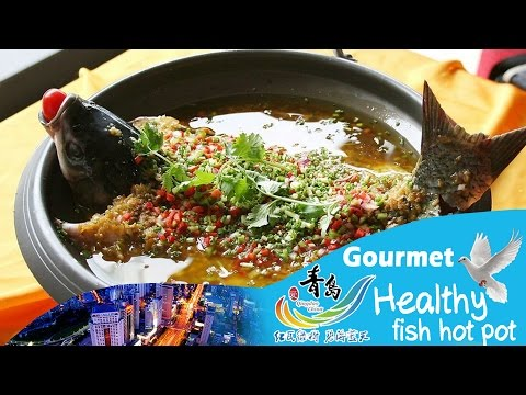 【Qingdao Gourmet】Healthy fish hot pot