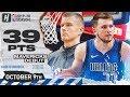 Luka Doncic with Kristaps Porzingis Mavericks Debut Highlights vs Pistons | October 9, 2019