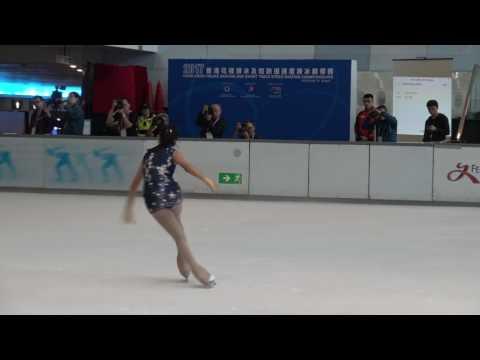 2017 Hong Kong Figure Skating Championships - Junior Ladies SP Kahlen