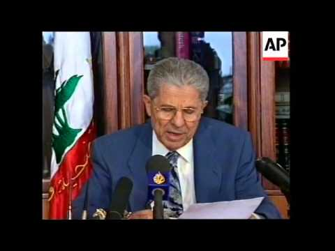 LEBANON: GENERAL LAHD ASKS FOR AMNESTY FOR SLA MEMBERS