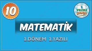 10. Sınıf Matematik | 1. Dönem 1. Yazılıya Hazırlık
