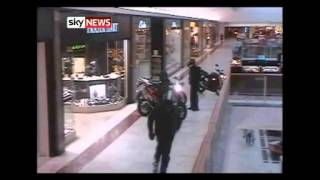 Brent Cross Robbery: CCTV Footage Of Bike Gang Raid