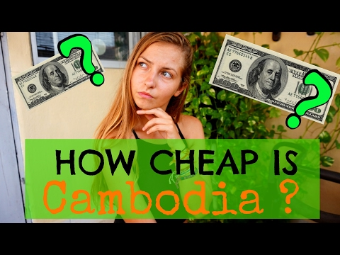 HOW CHEAP REALLY IS CAMBODIA ? | Food & Travel Cost