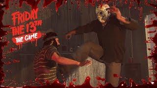Jason ha llegado | Friday the 13th: THE GAME - DESAFÍO 1 y 2