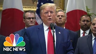 Trump: 'Kurds Are Natural Enemies' With Turkey | NBC News