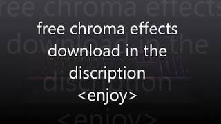 Razer Chroma Effects Download