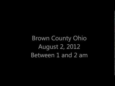 UFO Sighting - Brown County, Ohio (August 2, 2012)
