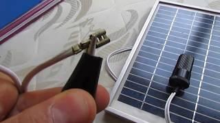 Güneş paneli ile akü ve telefon şarj etme TEKNİK ÖĞRETMENİM