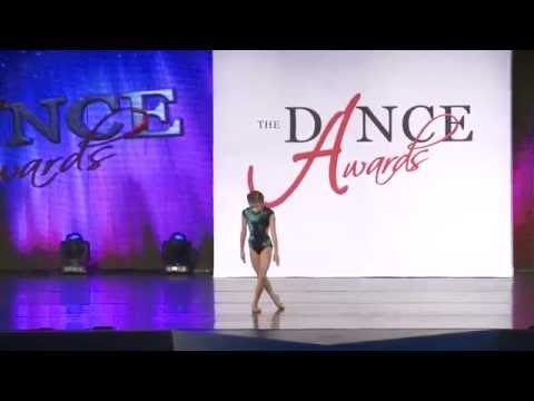 Chloe Barbera- When Your Feet Don't Touch the Ground (Solo for Mini Best Dancer at The Dance Awards
