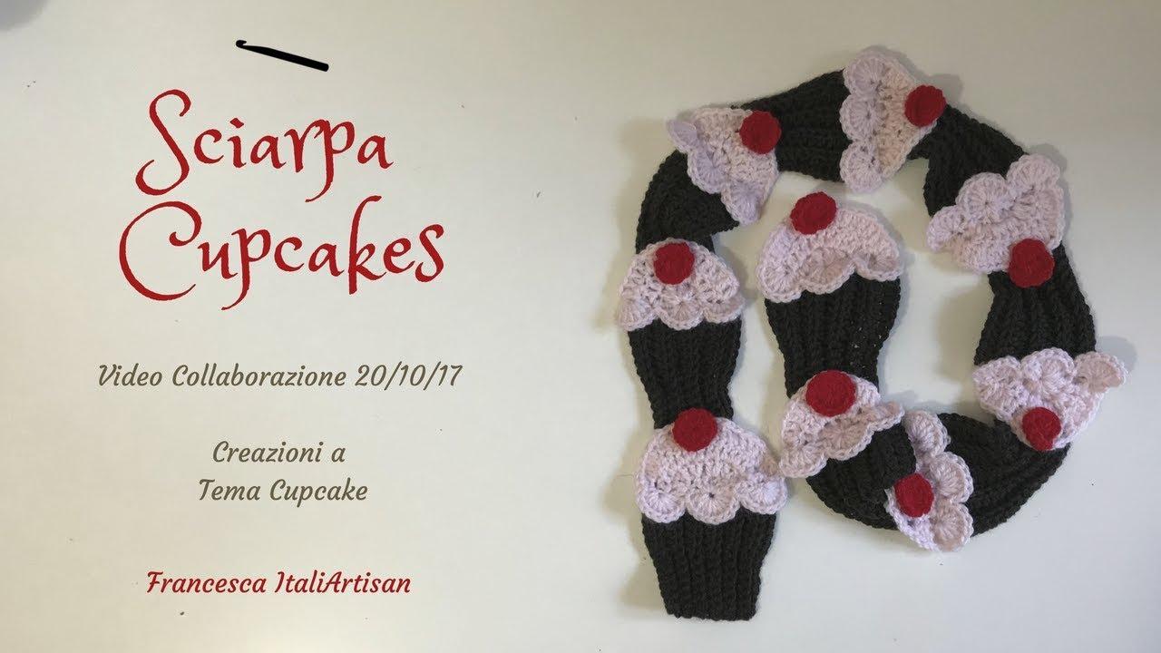 Sciarpa Bimba Cupcakes Alluncinetto Video Collab 20ott2017 Youtube