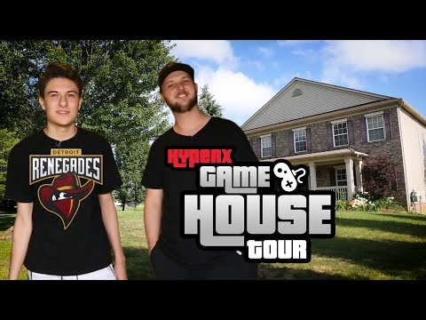 Renegades CS:GO – HyperX Gaming House Tour