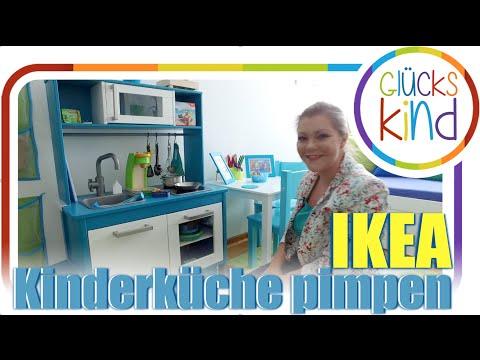 Kinderküche pimpen ❤️ Unsere umgestaltete IKEA Duktiig Spielküche ❤️Das Glückskind