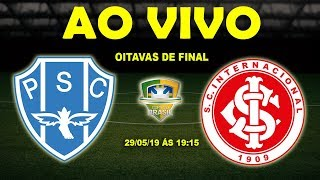 Paysandu 0 x 1 Internacional | Copa do Brasil | Oitavas de Final | 29/05/19