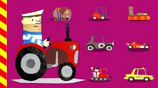 Машинки игры для детей. Строим большие дороги для машинок. Мультик про машинки.