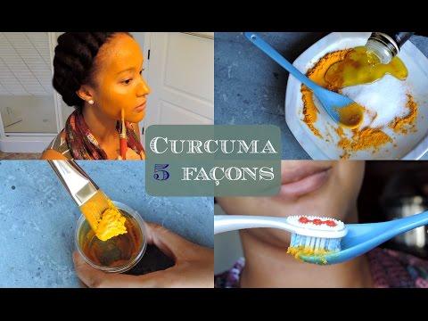 ♡5 Astuces beauté avec le curcuma♡