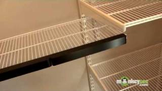 Closet Organization - Completing Installation Of Elfa Closet System
