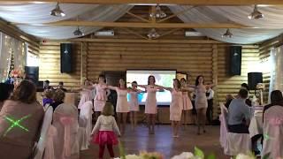 Оригинальное поздравление подружек невесты, КУРГАН 27.04.2018 Свадьба Дёминых!!!