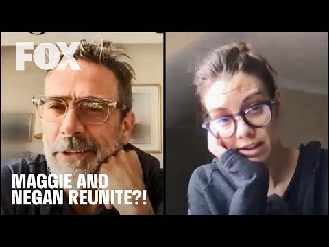 The Walking Dead | TABLE READ: Maggie and Negan Reunite?! | FOX TV UK