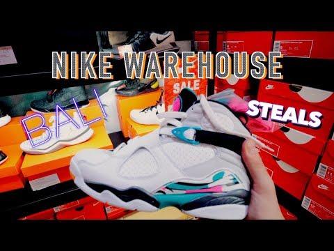 "Nike Warehouse in Bali ""SNEAKERSHOPPING"" - MAN CAVE"