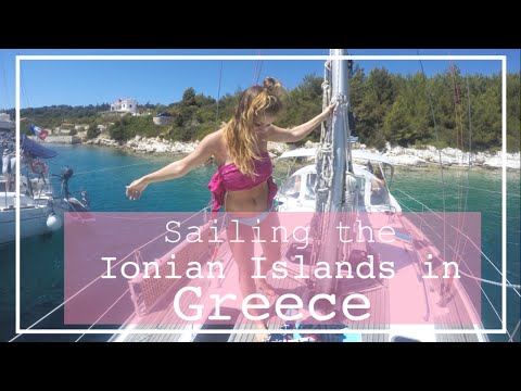 Sailing the Ionian Islands in Greece   GoPro Hero 4 Silver