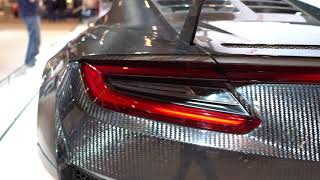ALL CARBON FIBER NSX GT3 at Chicago Auto Show
