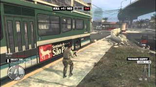 Max payne 3 Online Gameplay