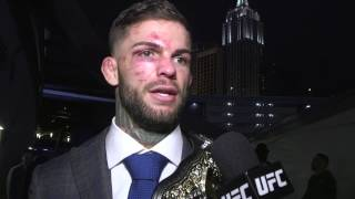 UFC 207: Cody Garbrandt Backstage Interview