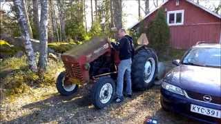 Trying to start 1965 International tractor