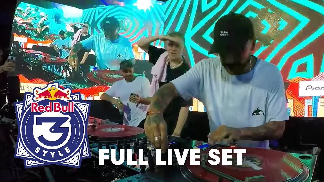 2¢ (Craze & Four Color Zack) | FULL LIVE SET | Red Bull 3Style