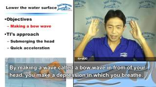 Seminar01-12:Four points for easier freestyle breathing 2 (English subtitles)