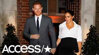 Meghan Markle & Prince Harry Sweetly Hold Hands On The Red Carpet At Endeavour Fund Awards
